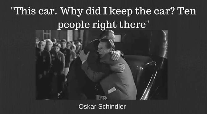 Oskar Schindler Car Auction