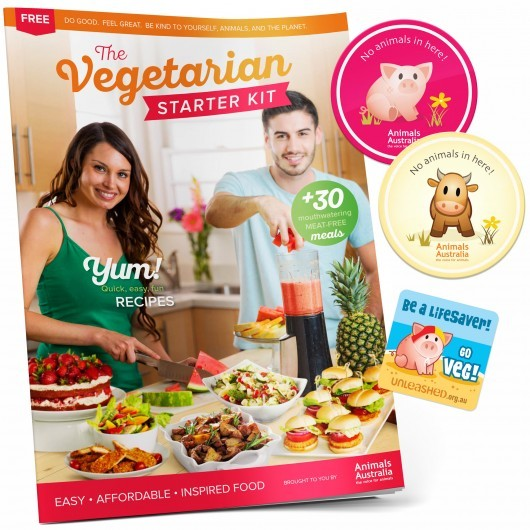 Vegetarian Starter Kit Animals Australia
