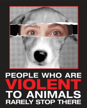 People Harming Animals Will Harm Humans