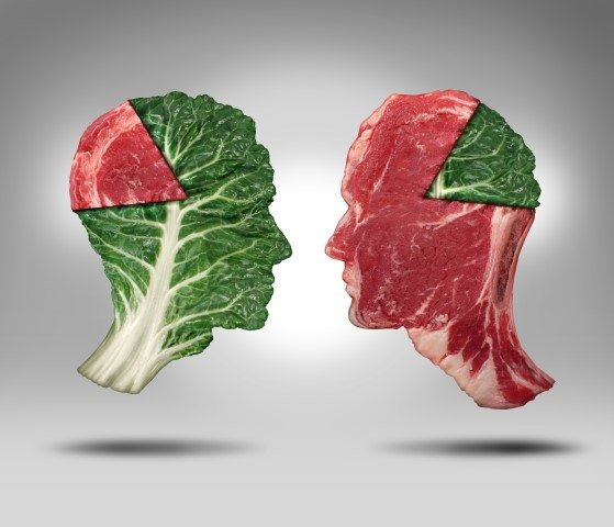 Vegetarian and the Meat Eating Balance